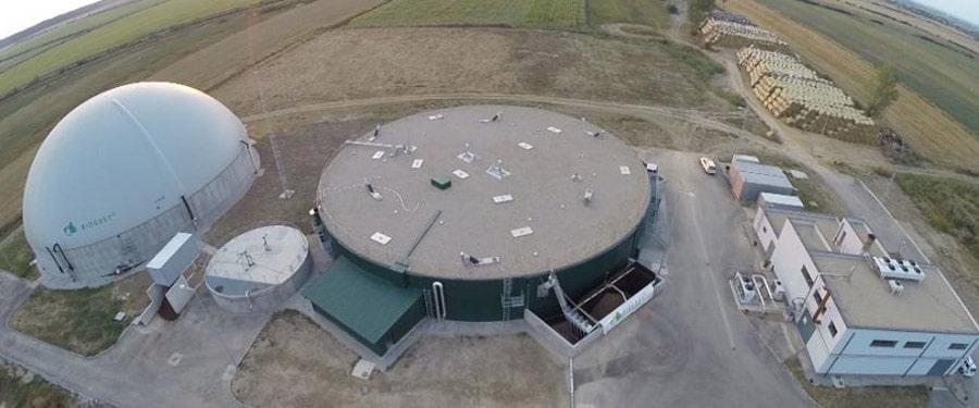'биогазовая электростанция','биогаз','биогаз из соломы','биогазовая установка','Биогест','Biogest Powerring'