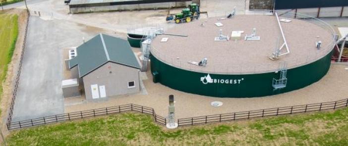 Биогазовый ферментер Biogest, биогазовая установка, биогазовый завод, биогаз