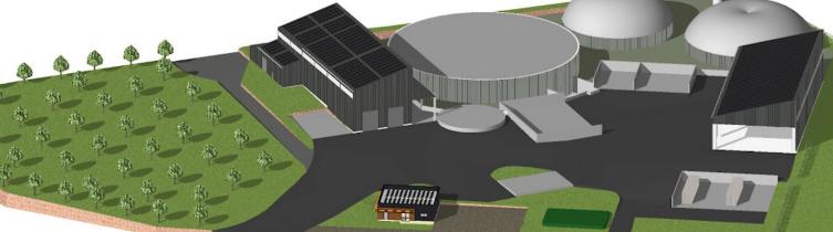 Biogest будує два біометанові заводи у Франції
